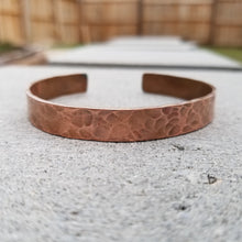 Load image into Gallery viewer, Unisex Copper Cuff