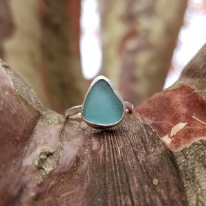 Talulah Sea Glass Ring No.1 size 5