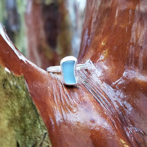 Talulah Sea Glass Ring No.7 size 6