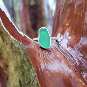 Talulah Sea Glass Ring No.8 size 6.5