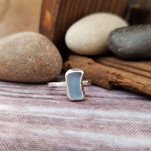 Load image into Gallery viewer, Talulah Sea Glass Ring No.7 size 6