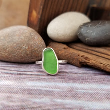 Load image into Gallery viewer, Talulah Sea Glass Ring No.8 size 6.5