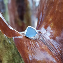 Load image into Gallery viewer, Talulah Sea Glass Ring No.12 size 7