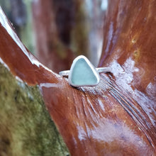 Load image into Gallery viewer, Talulah Sea Glass Ring No.13 size 7