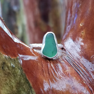 Talulah Sea Glass Ring No.14 size 7