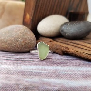 Talulah Sea Glass Ring No.11 size 6.75