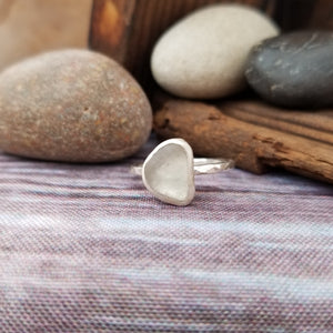Talulah Sea Glass Ring No.17 size 8
