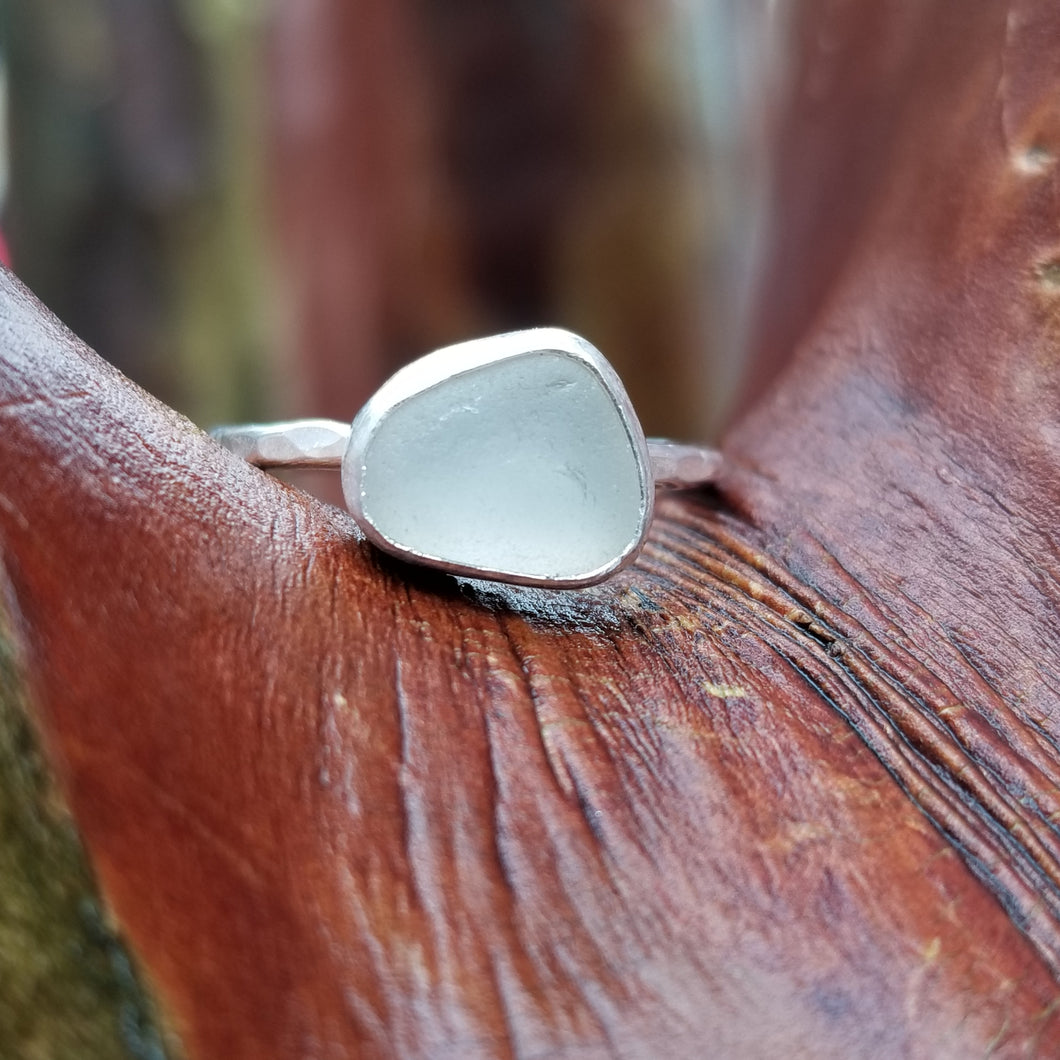 Talulah Sea Glass Ring No.20 size 8