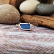 Load image into Gallery viewer, Talulah Sea Glass Ring No.23 size 8
