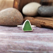 Load image into Gallery viewer, Talulah Sea Glass Ring No.24 size 10