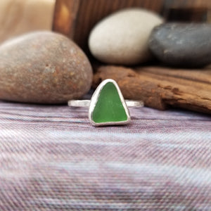 Talulah Sea Glass Ring No.24 size 10