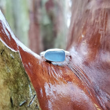 Load image into Gallery viewer, Talulah Sea Glass Ring No.5 size 5