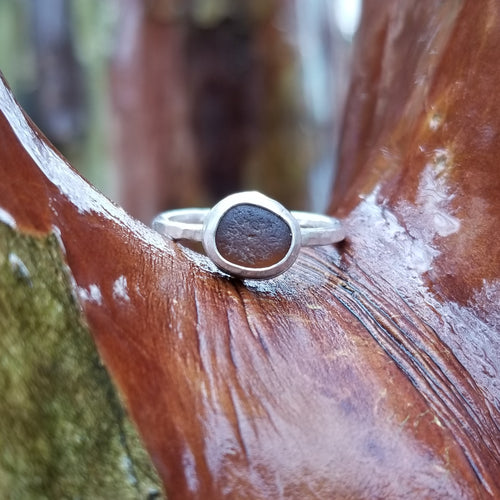 Talulah Sea Glass Ring No.6 size 6.5