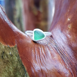 Talulah Sea Glass Ring No.16 size 7.25