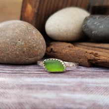 Load image into Gallery viewer, Talulah Sea Glass Ring No.19 size 8.5