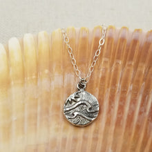 Load image into Gallery viewer, Solid Sterling Ocean Charm Necklace