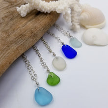 Load image into Gallery viewer, Sea Glass Drop Pendant