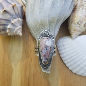 Pink Opal Ring - Size 6