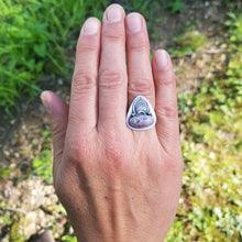 Load image into Gallery viewer, Pink Opal Ring - size 7