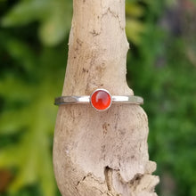 Load image into Gallery viewer, Carnelian Stacking Ring