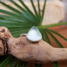 Load image into Gallery viewer, Capri Sea Glass Ring  No.16    Size  5.5