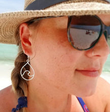 Load image into Gallery viewer, Odysea Wave Earrings - Changing Tides Jewelry
