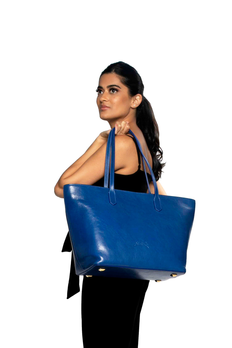 Manila All Purpose Tote Bag In Royal Blue
