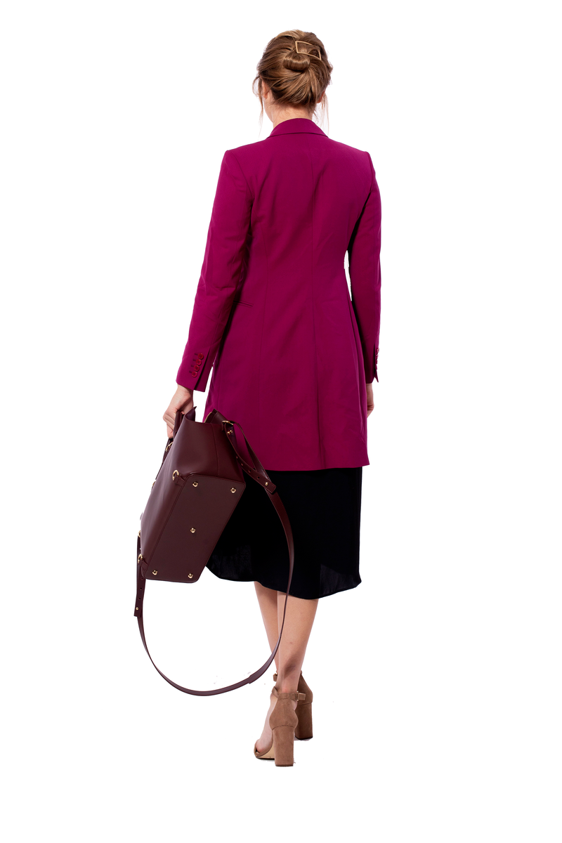 Convertible Executive Bag in Burgundy - Silver & Riley