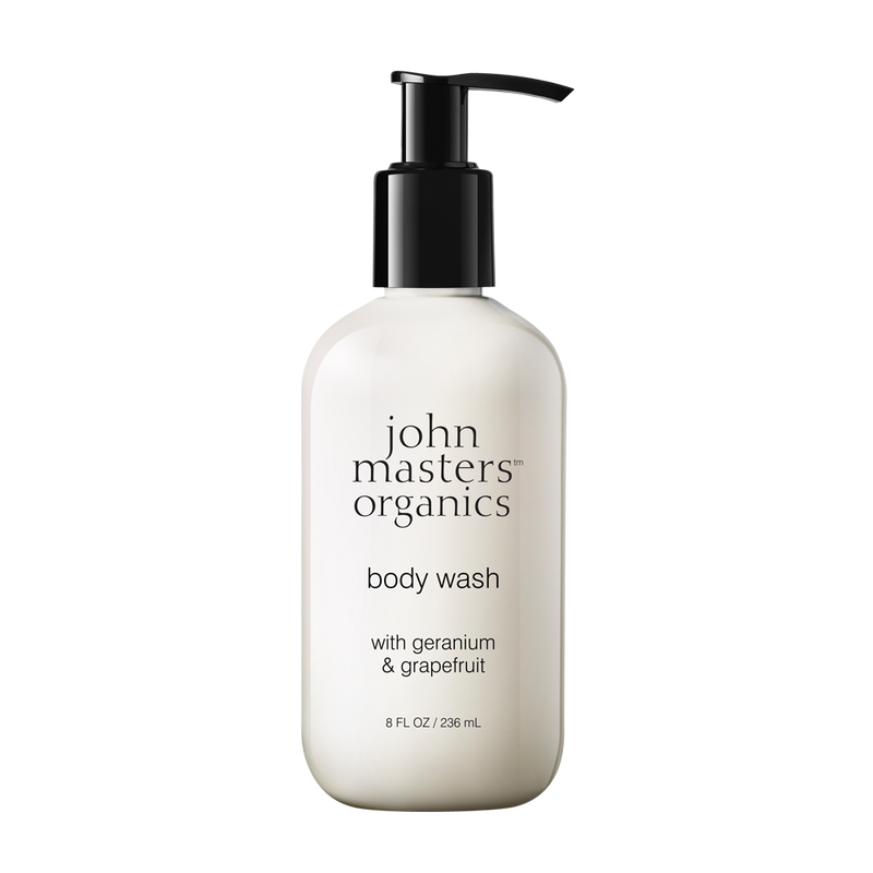 Body Wash with Geranium & Grapefruit