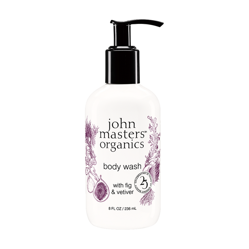 Body Wash with Fig & Vetiver