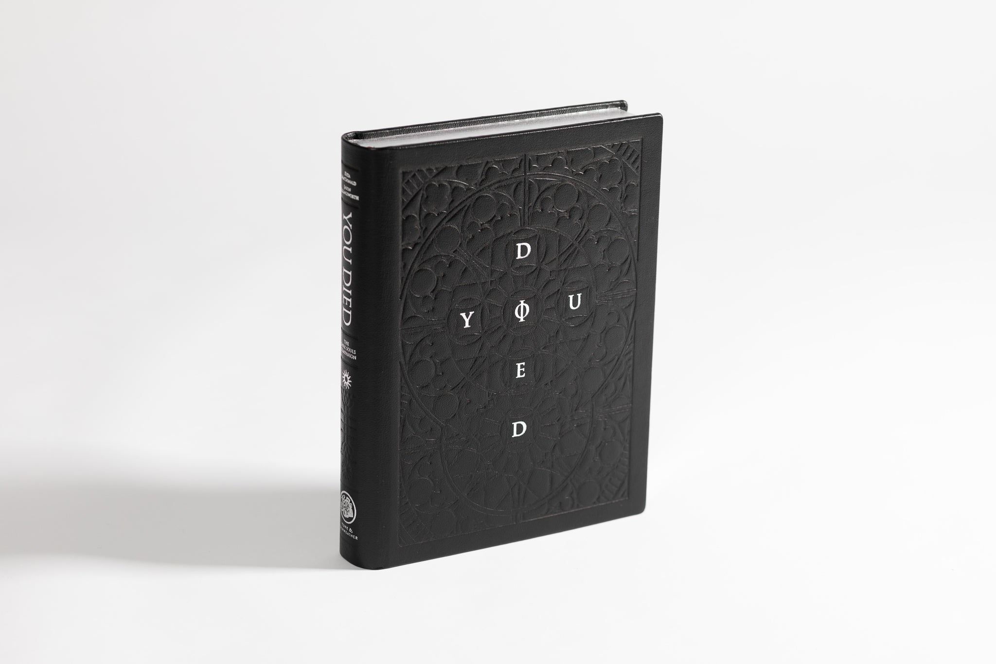 """Gravelord Servant Edition"" Italian-leather copy of You Died with handcrafted oak coffin)"