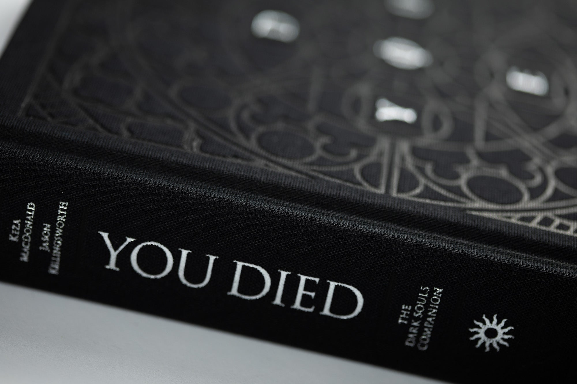 You Died deluxe hardcover (black cloth edition)