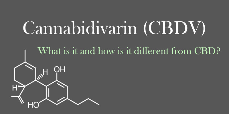 Cannabidivarin (CBDV): What is it and how is it different than CBD?