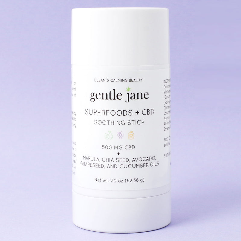 Gentle Jane Superfoods + CBD Soothing Stick 500mg CBD