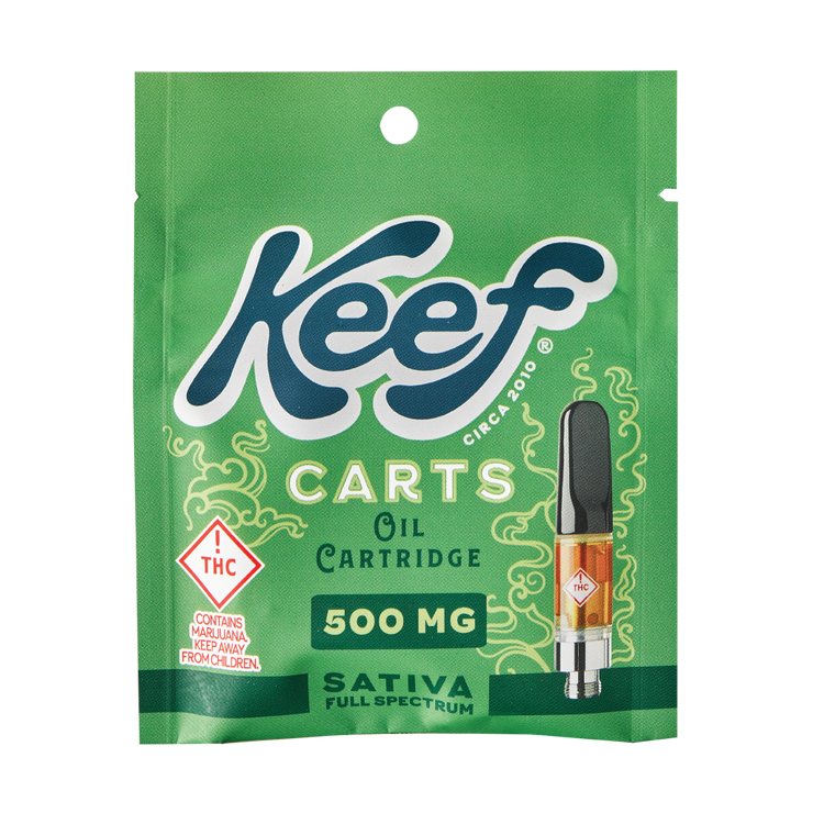 Keef Carts - 500MG Sativa