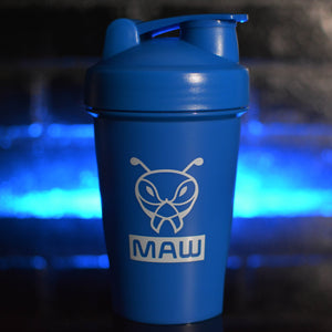 Collector's Edition MAW Blue Buzz Shaker Bottle