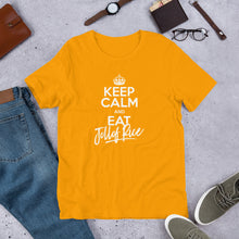 Load image into Gallery viewer, Jollof Rice Short-Sleeve Men's T-Shirt +Colors - Efizy Tees