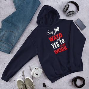 Say No to Wayo Unisex Hooded Sweatshirt +Colors - Efizy Tees