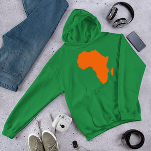 Africa Unisex Hooded Sweatshirt +Colors - Efizy Tees