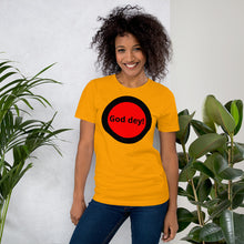 Load image into Gallery viewer, God dey Short-Sleeve Unisex T-Shirt +Colors - Efizy Tees