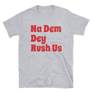 Rush Short-Sleeve Unisex T-Shirt +Colors - Efizy Tees