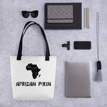 Load image into Gallery viewer, African Pikin Tote bag - Efizy Tees