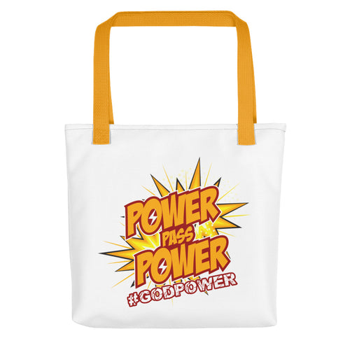 Power Pass Power Tote bag - Efizy Tees
