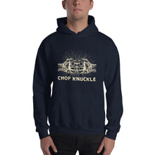 Load image into Gallery viewer, Chop knuckle Unisex Hooded Sweatshirt - Efizy Tees