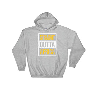 Outta Africa Unisex Hooded Sweatshirt +Colors - Efizy Tees
