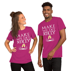 Jolly Short-Sleeve Unisex T-Shirt +Colors - Efizy Tees