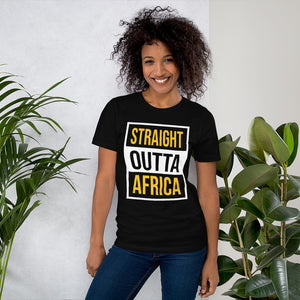 Outta Africa Short-Sleeve Unisex T-Shirt +Colors - Efizy Tees