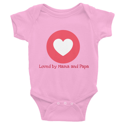 Love Infant Bodysuit +Colors - Efizy Tees
