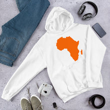 Load image into Gallery viewer, Africa Unisex Hooded Sweatshirt +Colors - Efizy Tees