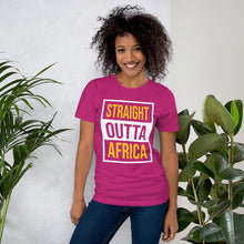 Load image into Gallery viewer, Outta Africa Short-Sleeve Unisex T-Shirt +Colors - Efizy Tees